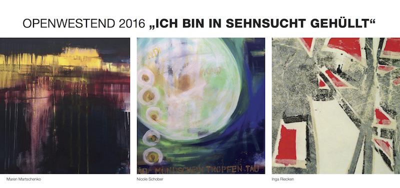 #paintinginprogress beim openWestend 2016 vom 11. bis 13. März 2016