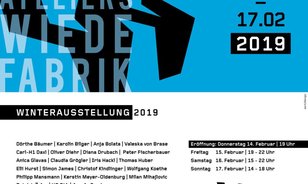 Freitagskühe zu Gast im Werk 3 bei der Winterausstellung in der Wiede-Fabrik