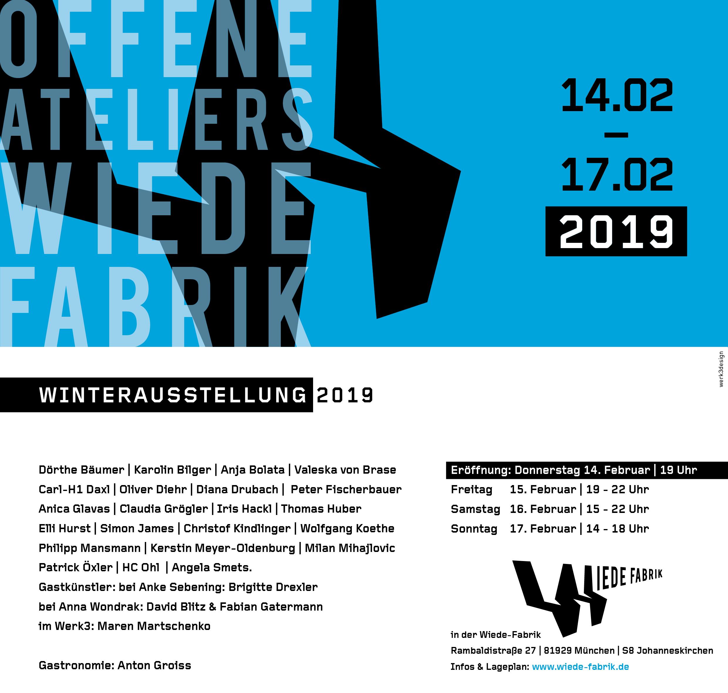 Freitagskühe zu Gast in der Winterausstellung der Wiede-Farbrik vom 14. bis 17. Februar 2019
